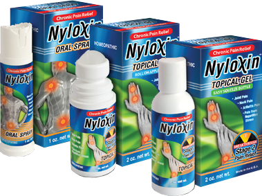 Nyloxin Chronic Pain Relief Products